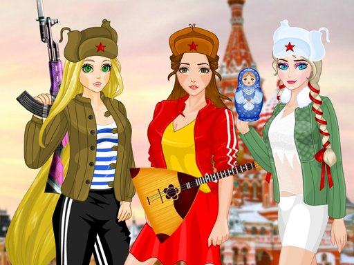 Play Princess Russian Hooligans Now!