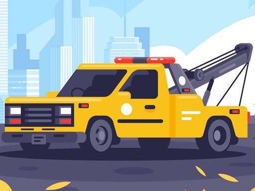 Play City Duty Vehicles Jigsaw Now!