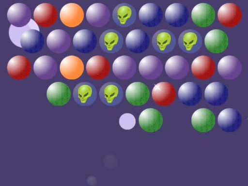 Play Aliens Bubble Shooter Now!