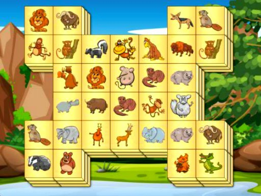 Play Zoo Mahjongg Deluxe Now!