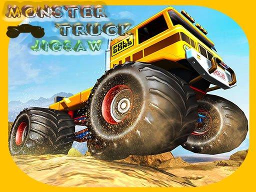 Play Monster Trucks Jigsaw Now!