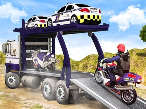 Play Offroad Police Cargo Transport Now!