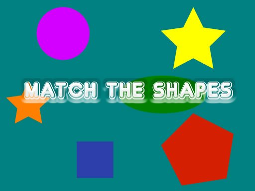 Play Match The Shapes Now!
