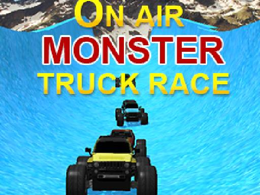 Play On Air Monster Truck Race Now!