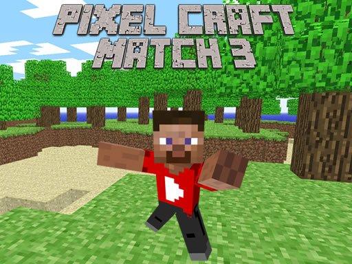 Play Pixel Craft Match 3 Now!