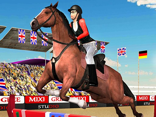 Play Horse Jumping Show 3D Now!