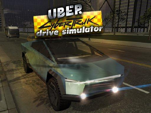 Play Uber CyberTruck Drive Simulator Now!