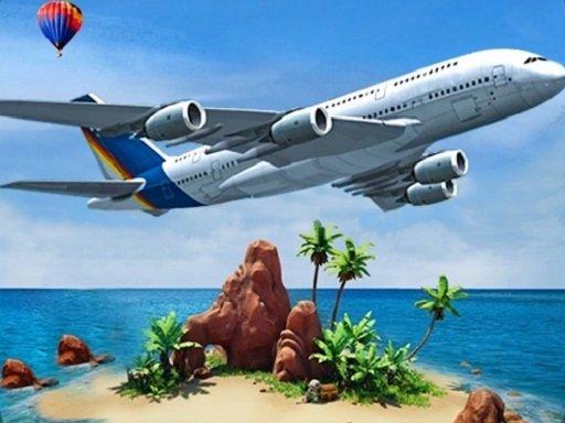 Play Airplane Simulator Island Travel Now!