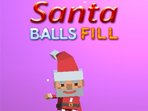 Play Santa Balls Fill Now!