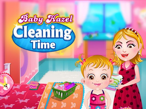 Play Baby Hazel Cleaning Time Now!