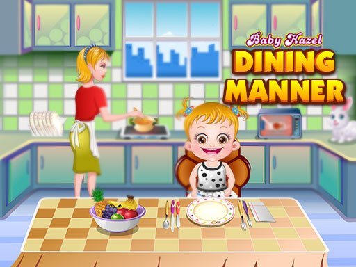 Play Baby Hazel Dining Manners Now!