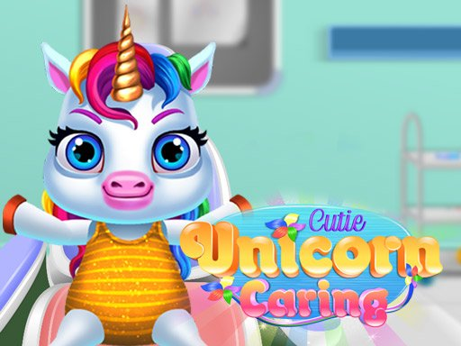 Play Cutie Unicorn Care Now!