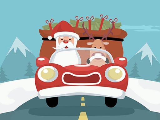 Play Santa Giving Presents Jigsaw Now!
