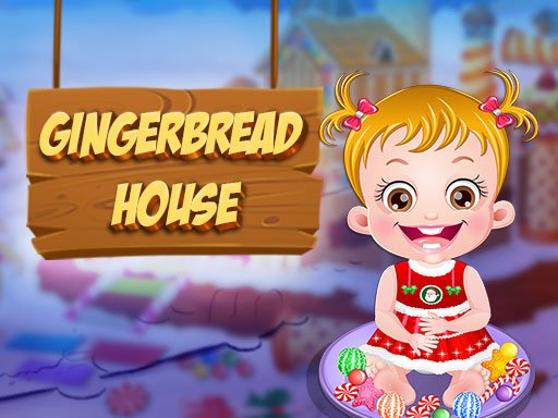 Play Baby Hazel Gingerbread House Now!