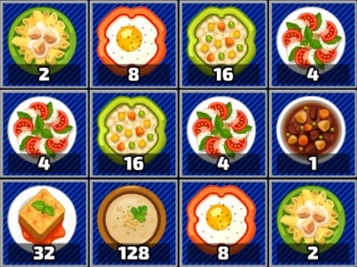 Play Yummy 2048 Now!