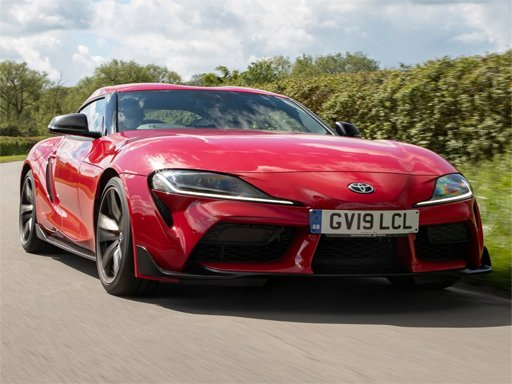Play Toyota Supra Puzzle Now!