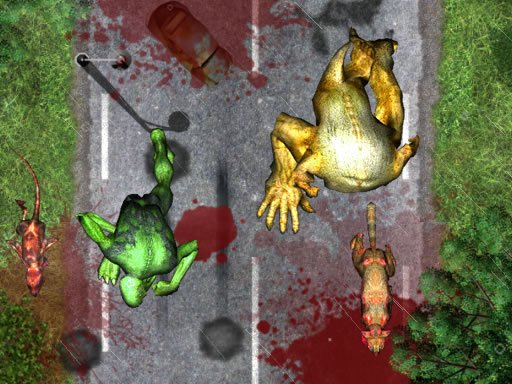 Play Crush the Zombies Now!