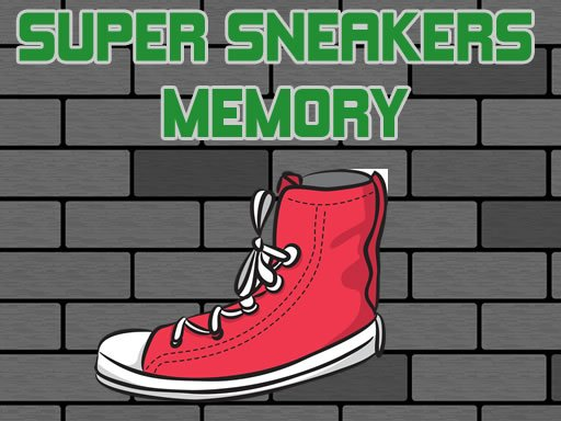 Play Super Sneakers Memory Now!