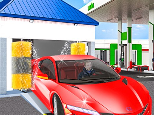 Play Gas Station: Car Parking Now!