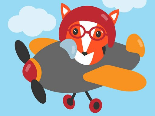 Play Cute Planes Coloring Now!