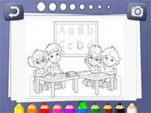 Play Kids Coloring Book Now!
