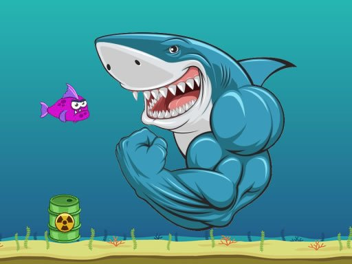 Play Scary Mad Shark Now!