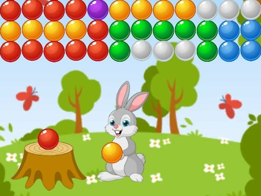 Play Bubble Shooter Bunny Now!