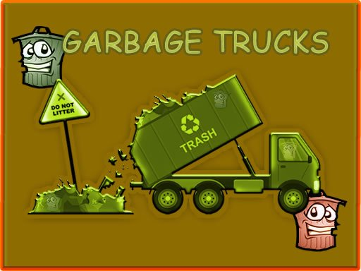 Play Garbage Trucks - Hidden Trash Can Now!