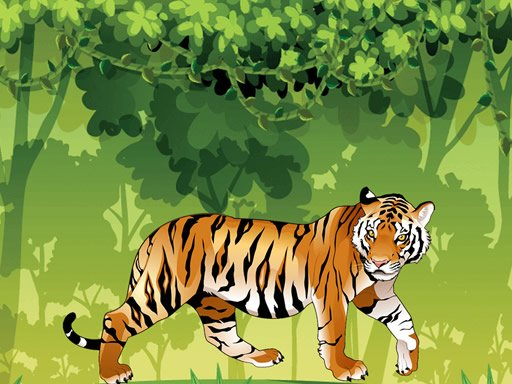 Play Angry Tiger Coloring Now!