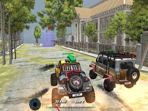 Play Offroad Monster Truck Forest Championship Now!
