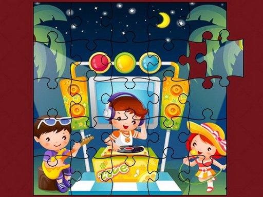 Play Cute Little Kids Jigsaw Now!