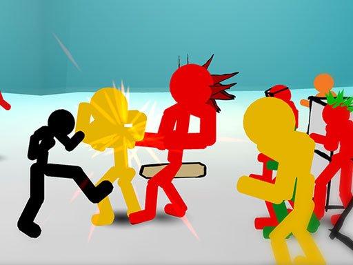 Play Stickman Street Fighting Now!