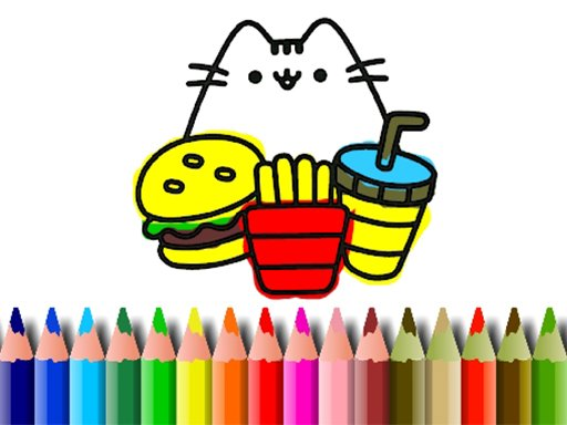 Play BTS Cute Cats Coloring Now!
