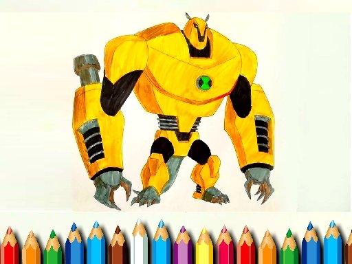 Play Ben10 Monsters Coloring Now!