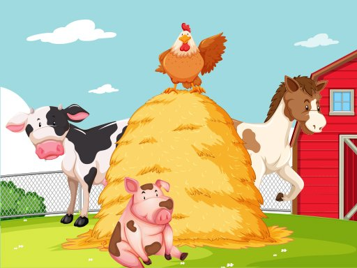 Play Farm Puzzle Now!