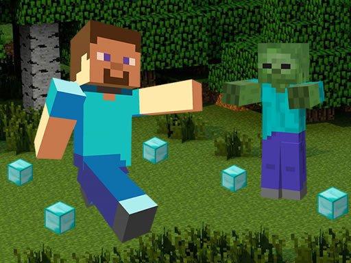 Play Minecraft Hidden Diamond Blocks Now!