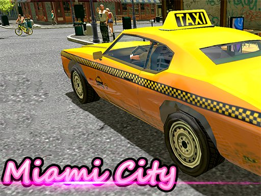 Play Miami Taxi Driver 3D Now!