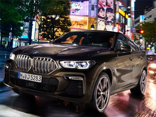 Play BMW X6 M50i Puzzle Now!