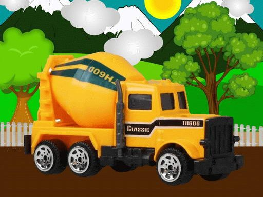 Play Construction Vehicles Jigsaw Now!