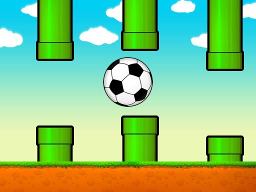 Play Flappy Soccer Ball Now!