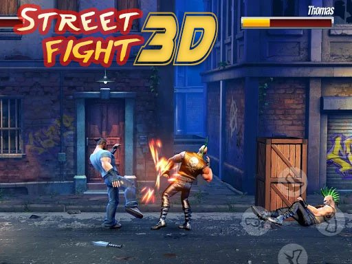 Play Street Fight 3D Now!