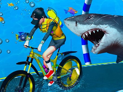 Play Underwater Bicycle Racing Now!