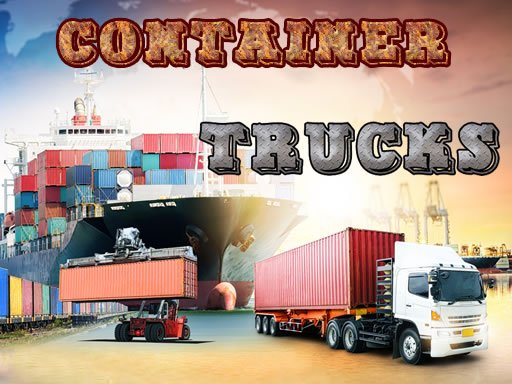 Play Container Trucks Jigsaw Now!