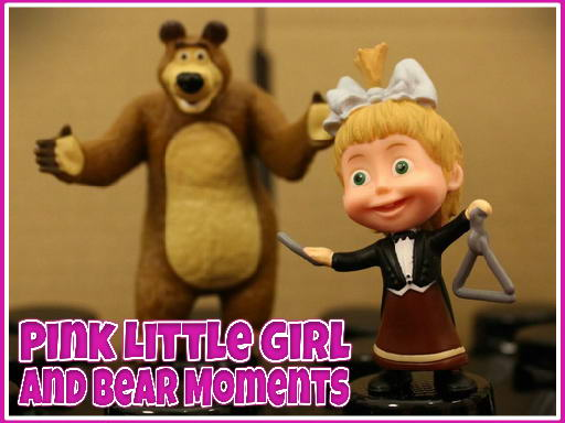 Play Pink Little Girl and Bear Moments Now!