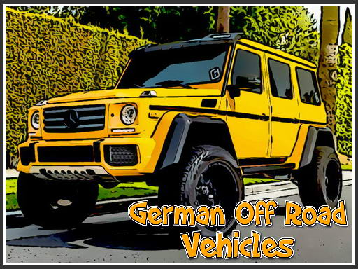 Play German Off Road Vehicles Now!