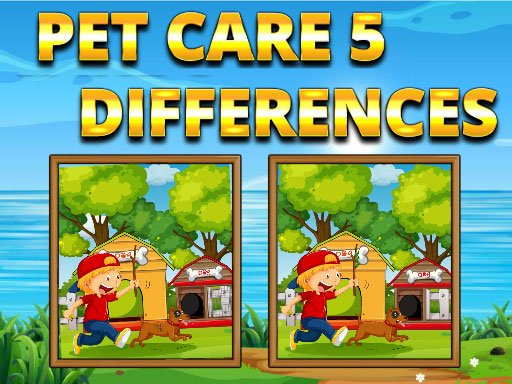 Play Pet Care 5 Differences Now!