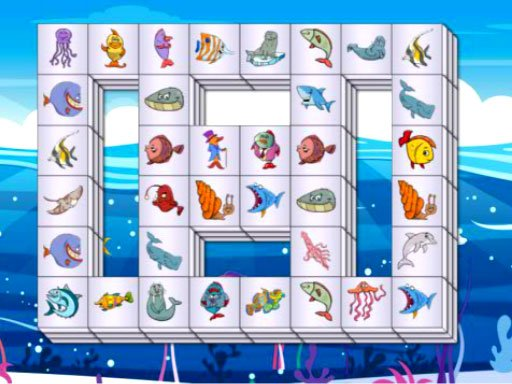 Play Sea Life Mahjong Now!