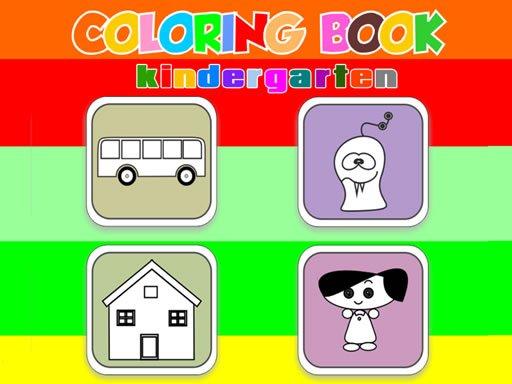 Play Coloring Book Kindergarten Now!