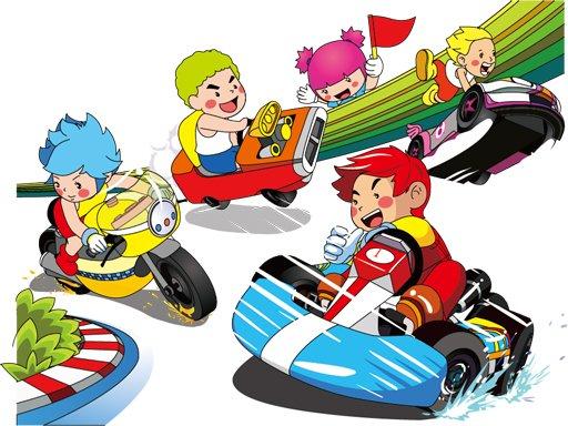 Play Cartoon Kart Puzzle Now!