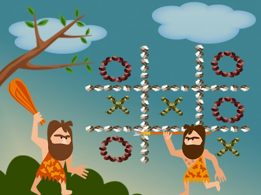 Play Tic Tac Toe Stone Age Now!
